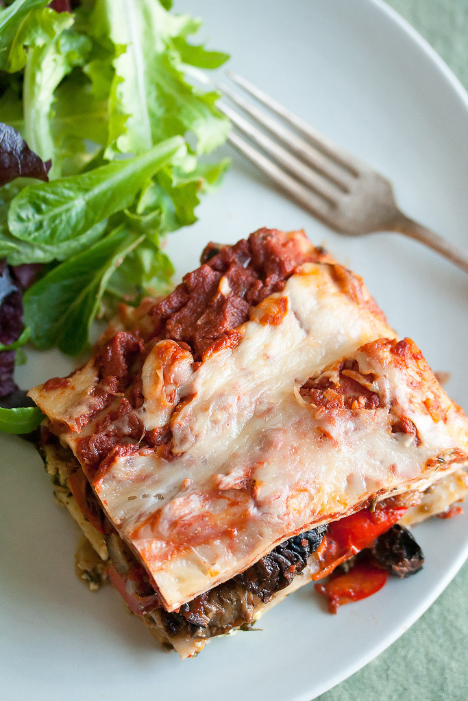 Recipe: Roasted Vegetable Lasagna