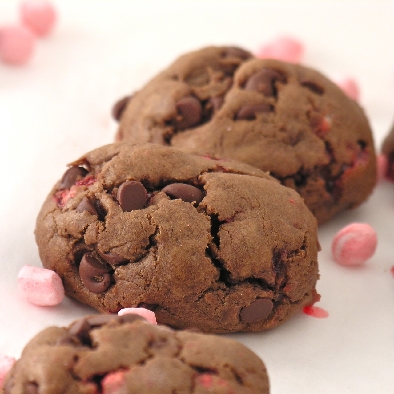 Peppermint Chocolate Drops