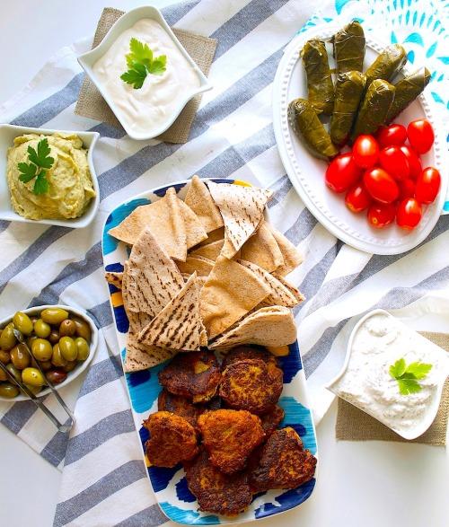 Greek Appetizers + BitesSource