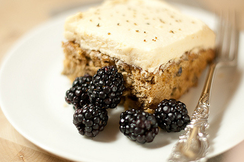 Blackberry, Cheesecake