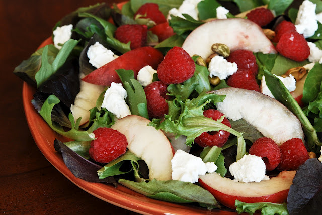 Nectarine Summer Salad