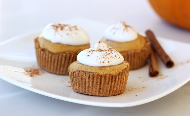 Mini Pumpkin Pie Tarts