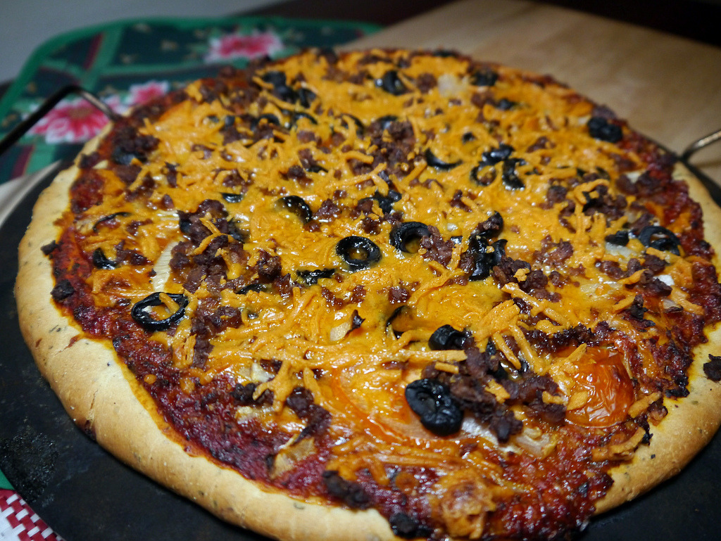 Beer Crust Pizza Recipe (x)