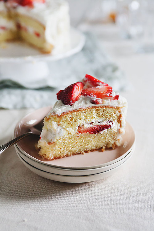 Japanese Strawberry Shortcake The Tart Tart