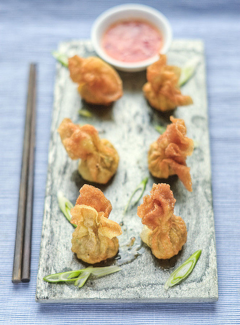 Fried Wontons by Chris Radley on Flickr.