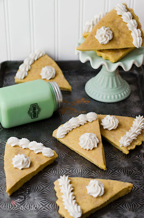 Pumpkin Pie Shortbread Cookies Bakingdom