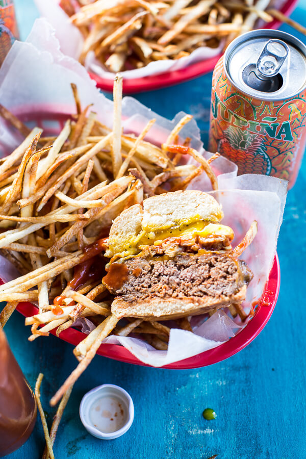 The cuban frita burger