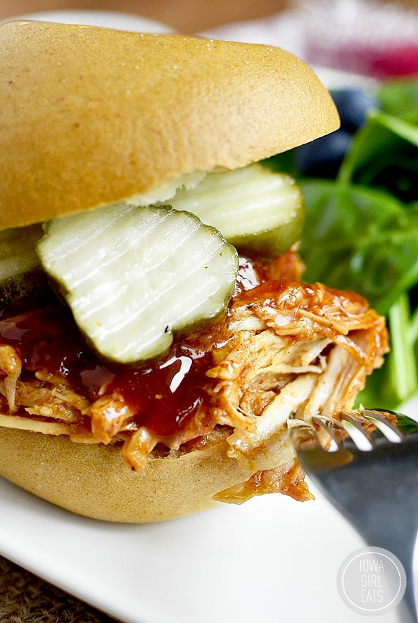 Crock Pot BBQ Chicken with Homemade BBQ Sauce