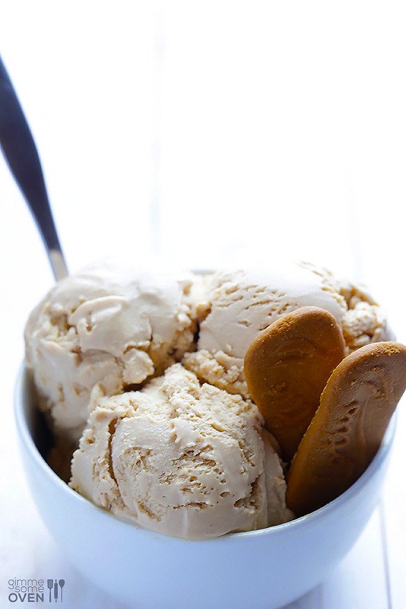 Biscoff ice cream